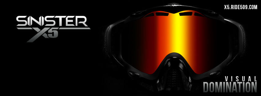 3ebe93faf7 ... 509 Sinister X5 MaxVent Replacement Goggle Lens
