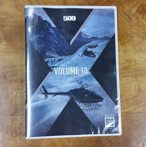 509 Films Volume 10, Extreme Back country Snowmobiling DVD, 2015