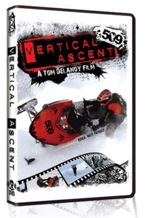 509 Films Vertical Ascent DVD, Extreme Back country Snowmobiling Movie, 2007