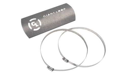 Giant Loop Hot Springs Grande Motorcycle Exhaust Heat Shield W/ Clamp