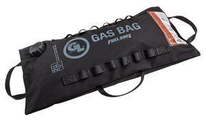 Giant Loop 2 Gallon Gas Bag Fuel Safe Bladder - Includes 2 straps, 3 funnels