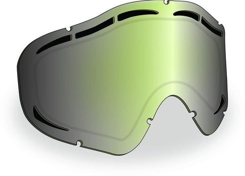 509 Sinister X5 MaxVent Replacement Goggle Lens, Chrome Mirror Lens, Yellow Tint