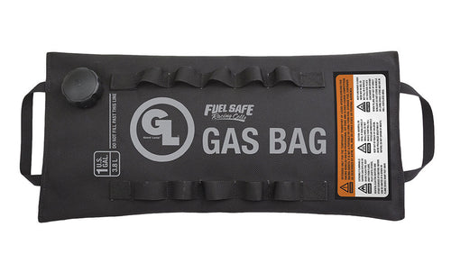 Giant Loop 1 Gallon Gas Bag Fuel Safe Bladder - Includes 2 straps, 3 funnels