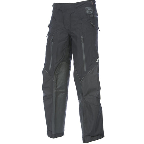FLY RACING PATROL OTB MOTORCYCLE PANTS - BLACK / GREY SIZE 38
