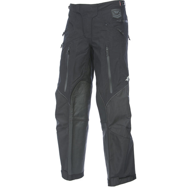 Fly Racing Patrol OTB Motorcycle Pants - Black And Grey, Size 38