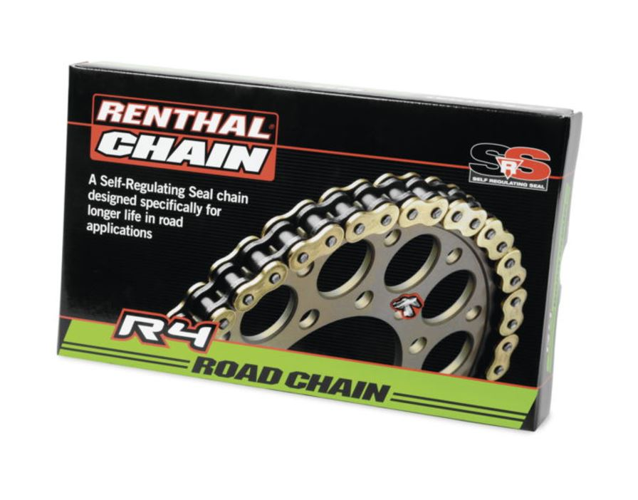 New Renthal R4 530 Motorycle Chain – Street Bike, Road Bike Chain