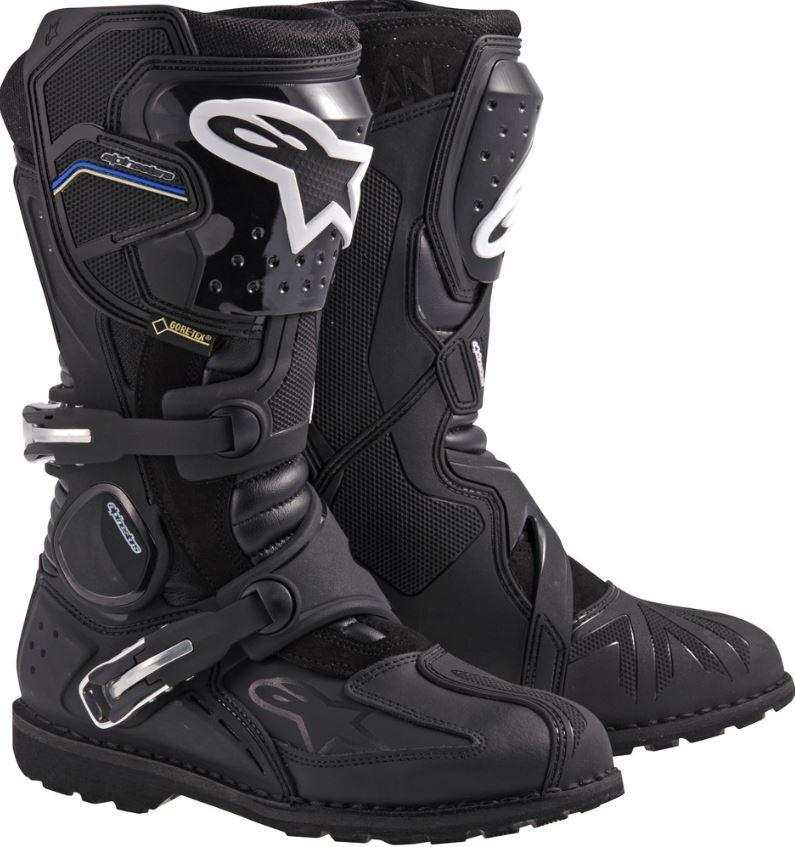 Alpinestar Toucan Gore-Tex Motorcycle Snow Bike Boots - Black,