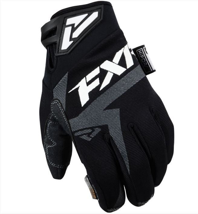FXR Mountain - Attack Insulated Snow Bike and Snowmobile Gloves – Black, 2XL