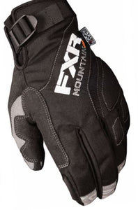 FXR Mountain - Attack Lite Snowmobile Gloves – Black, Large, XL