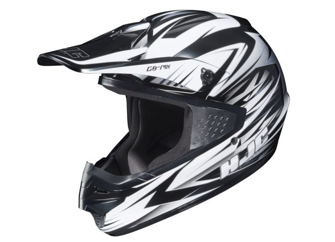 HJC CS-MX Shattered Mens Off Road Helmet, Gray, XXL, 2XL