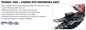 Snow Bike Tunnel Pack For Camso DTS Snowbikes