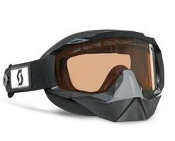 Scott Hustle SnoCross Speed Strap Goggles - Black Frame with ACS Rose Tint Lens