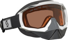 Scott Hustle SnoCross Speed Strap Goggles - White Frame with ACS Rose Tint Lens