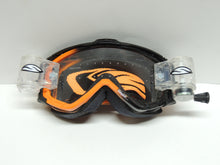 Smith Optics Intake Sweat-X Racer Pack Motorsport Goggles Black/Orange Frame, Clear