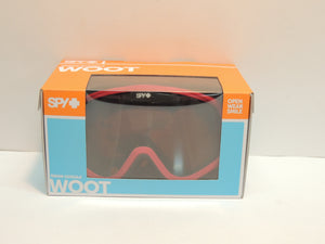Spy Woot Snow Winter Blush Red Edition - Snowmobile And Snow Bike Goggles