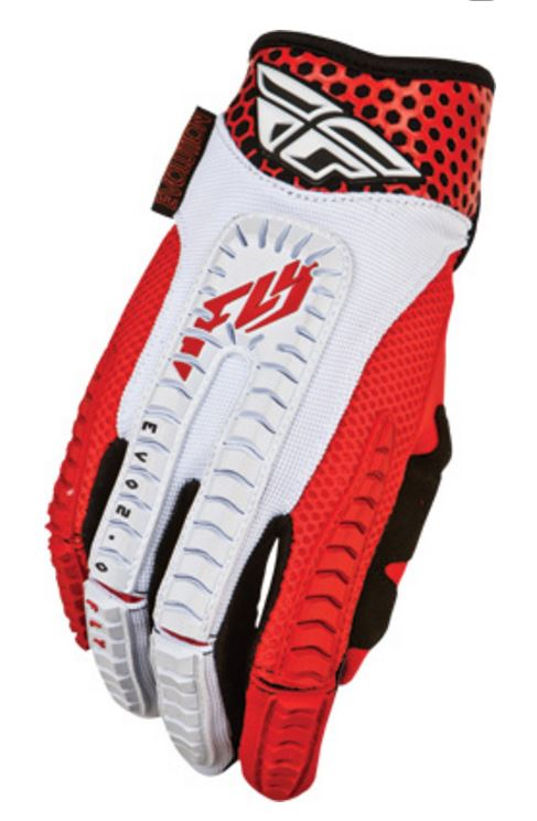 Fly Racing Evolution Gloves, Red, 2XL, XXL
