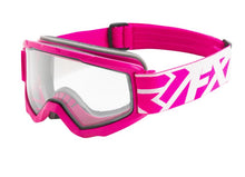 FXR Squadron Snow Goggles – Pink Frame With Clear Lens