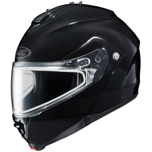 HJC IS-MAX II Modular Motorcycle Helmet With Anti Fog Shield, Black, XXL