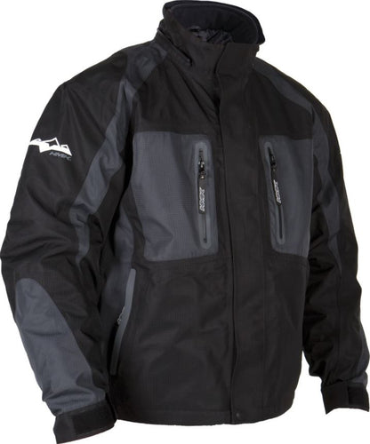 HMK STEALTH SNOWMOBILE JACKET WATERPROOF WINDPROOF MENS SMALL BLACK