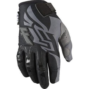 FLY RACING KINETIC GLOVES, BLACK AND GRAY, EXTRA LARGE, XL
