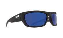 Spy Sunglasses – Dega Soft Matte Black - Happy Bronze Polarized Blue Spectra Lens