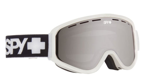 Spy Woot Snow Matte White Snowmobile And Snow Bike Goggles