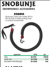 Snobunje Cobra - The Ultimate Snowmobile Unstuck Pulling Tool