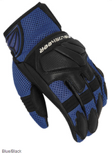 Mens Fieldsheer Sonic Air 2.0 Motorcycle Gloves -  Blue and Black