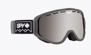 SPY WOOT SNOW WINTER GRAY EDITION - SNOWMOBILE AND SNOW BIKE GOGGLES