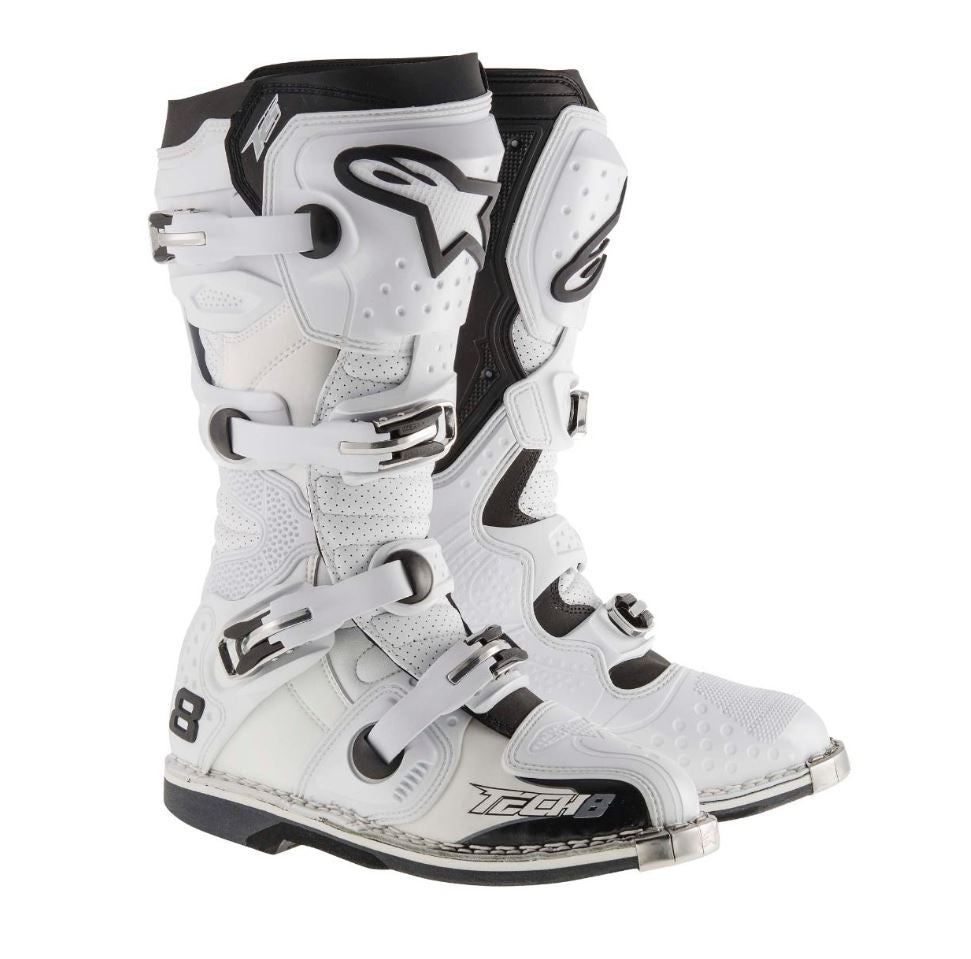 Alpinestar Tech 8 Boots, White