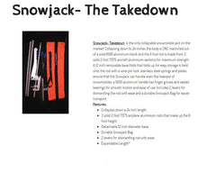 Snowjack- The Takedown, Collapsible Snowmobile and Snow Bike Jack System