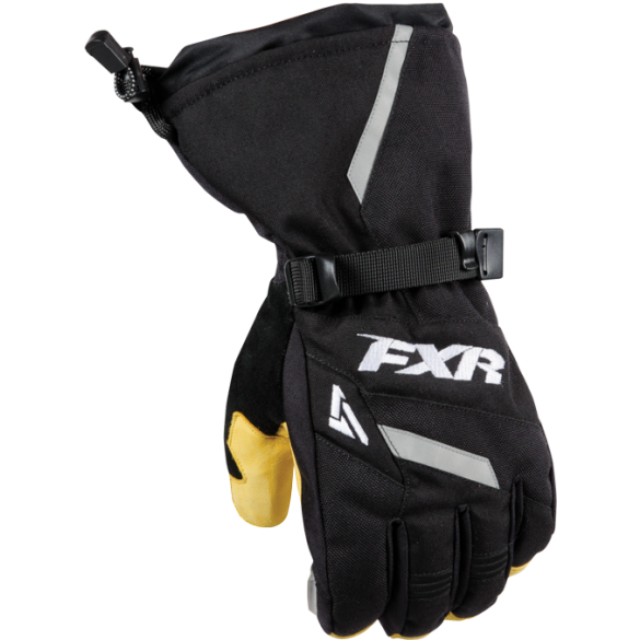 FXR Mens Backshift Snowmobile and Snow Biking Gloves