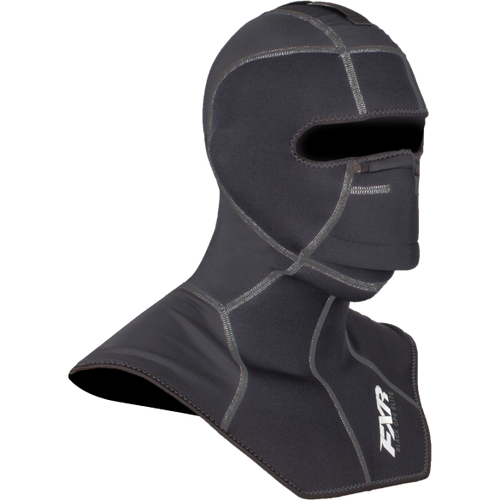 FXR Heavy Weight Black Ops Elite Balaclava - Black Snowmobile Balaclava - Sold Out