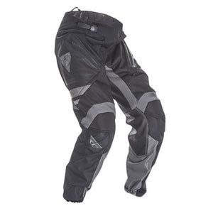 FLY RACING PATROL MOTORCYCLE PANTS - BLACK / GREY SIZE 34
