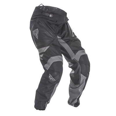 Fly Racing Patrol Motorcycle Pants - Black and Grey, Size 34