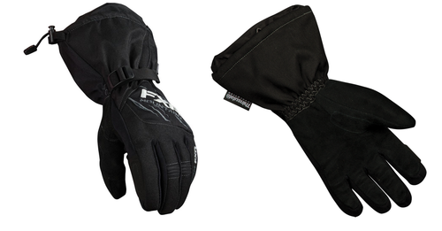 FXR Mountain - Mens Black Vertical Winter Gloves, Medium and 2XL, XXL