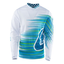 TLD GP Air Lightweight Jersey, White And Blue, Medium