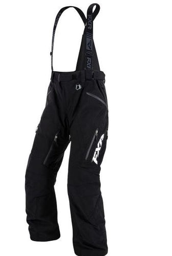 FXR Mission Lite Snowmobile Pants – Black, Small - Sold Out