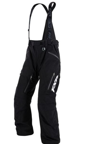 FXR Mission Lite Snowmobile Pants – Black, Small
