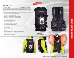 Highmark Spire Vest 3.0 PAS - Snowmobile Avalanche Airbag - Sold Out For 2018-2019
