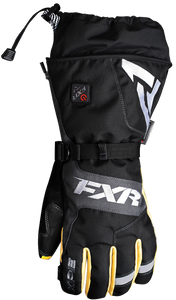 FXR Heated Recon Snowmobile or Snow Bike Gloves