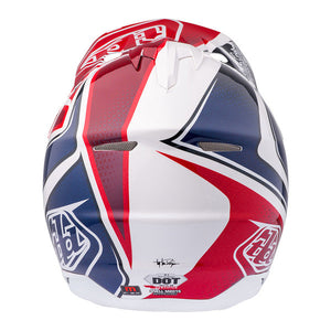 Troy Lee Designs SE3 Neptune Motocross Helmet, White, Medium,