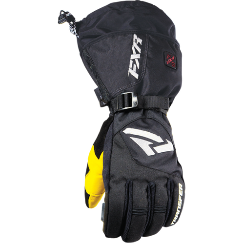 FXR Heated Transfer Snowmobile or Snow Bike Gloves
