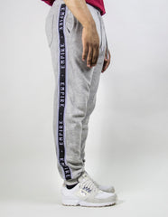 EMPIRE Logo Stripe Trackpants - Grey / Black