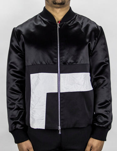 EMPIRE Sanction Satin Bomber