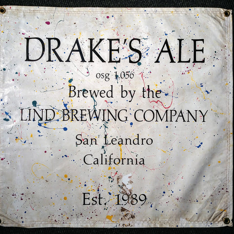 Lind Brewing Company OBF Vintage Tent BAnner