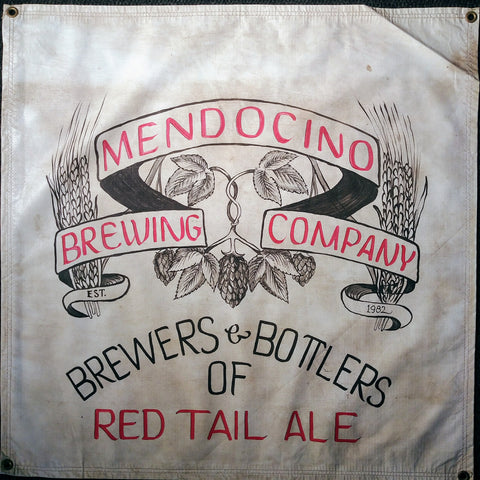Mendocino Brewing Co. OBF Vintage Tent Banner