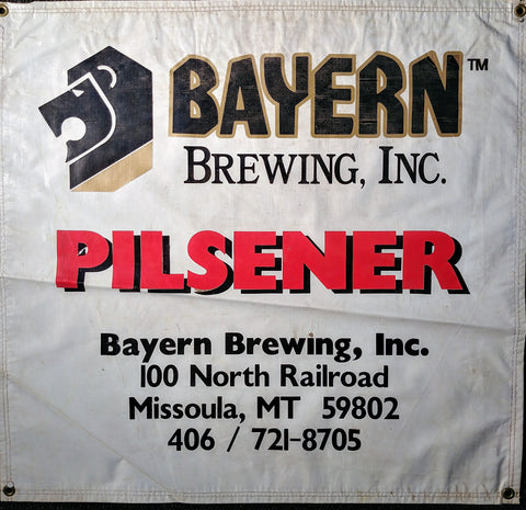 Bayern Brewing Co. OBF Vintage Tent Banner