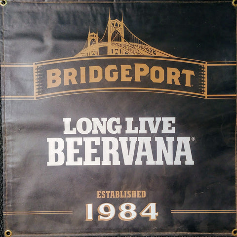 Bridgeport Beervana OBF Vintage Brewers Banner