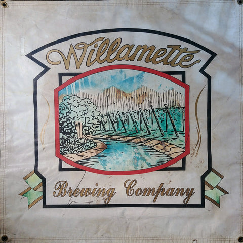 Willamette Brewing Company OBF Vintage Brewers Banner